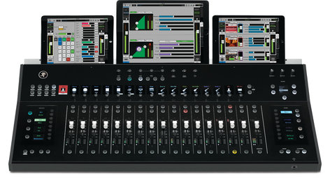 MACKIE DC16 DIGITAL MIXING CONTROL SURFACE / DEDICATED DANTE-CONNECTED CONTROL SURFACE FOR THE AXIS SYSTEM