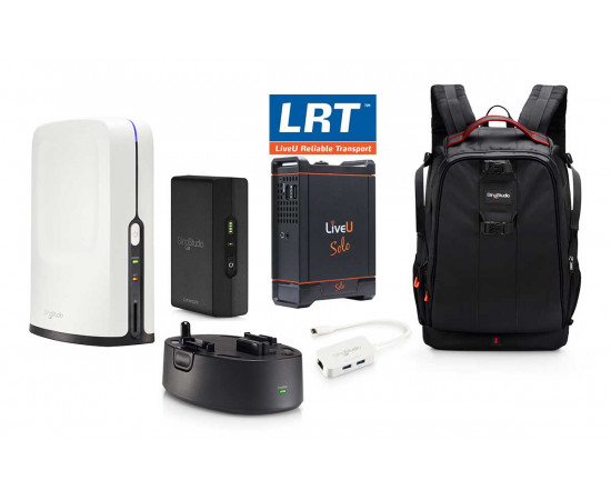 SLINGSTUDIO BUNDLE WITH LIVEU SOLO HDMI WITH 1 YEAR LRT SERVICE