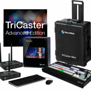 NEWTEK TRICASTER MINI ADVANCED HD-4I WITH 2 CONNECT SPARK HDMI BUNDLE