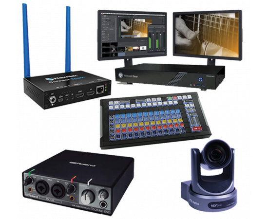 TELESTREAM WIRECAST GEAR 110 NDI STREAMING BUNDLE