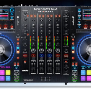 DENON DJ MCX8000 PROFESSIONAL 4-CHANNEL DIGITAL MIXER, SERATO DJ CONTROLLER,S TANDALONE ENGINE USB MEDIA PLAYER