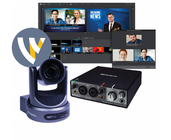 TELESTREAM WIRECAST PRO NDI STREAMING BUNDLE
