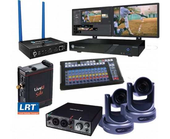 TELESTREAM WIRECAST GEAR 230 ULTIMATE NDI STREAMING BUNDLE