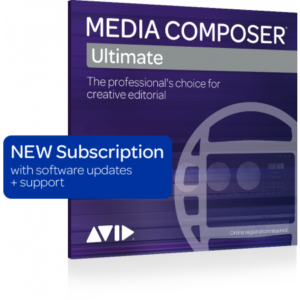 AVID MEDIA COMPOSER | ULTIMATE 1-YEAR SUBSCRIPTION