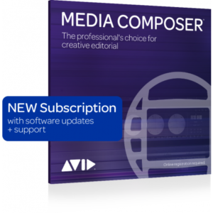 AVID MEDIA COMPOSER 1-YEAR SUBSCRIPTION