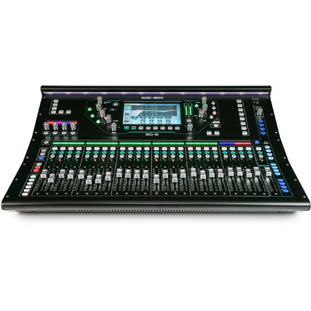 Allen & Heath AH-SQ-6 96kHz 48-Channel 36 Bus Digital Mixer w 25 Faders 6 Fader Layers 32x32 USB - 7 Inch Touch Screen