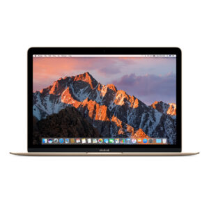 "Refurbished Apple MacBook 12"" Core™ M3-7Y32 1.1GHz 256GB SSD 8GB GOLD 1 Year Warranty- $999"