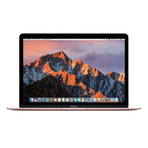 "Refurbished Apple MacBook 12"" Core™ M3-7Y32 1.1GHz 256GB SSD 8GB ROSE GOLD 1 Year Warranty- $999"