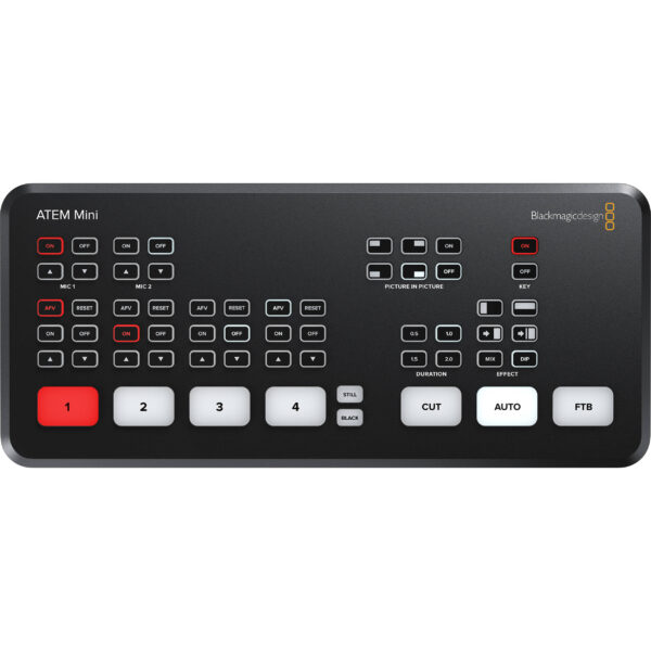 Blackmagic Design BMD-SWATEMMINI ATEM Mini HDMI Live Production Switcher