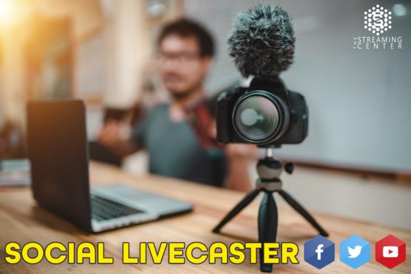 Social Livecaster - Broadcast Live Video On Multiple Platforms | $19.95