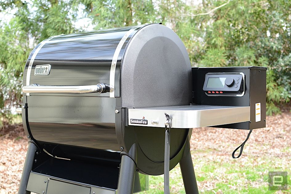 Weber SmokeFire review: An intriguing work-in-progress