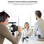 Comica CVM-WS60-COMBO Universal Wireless Mic for DSLR & Smartphones - $239