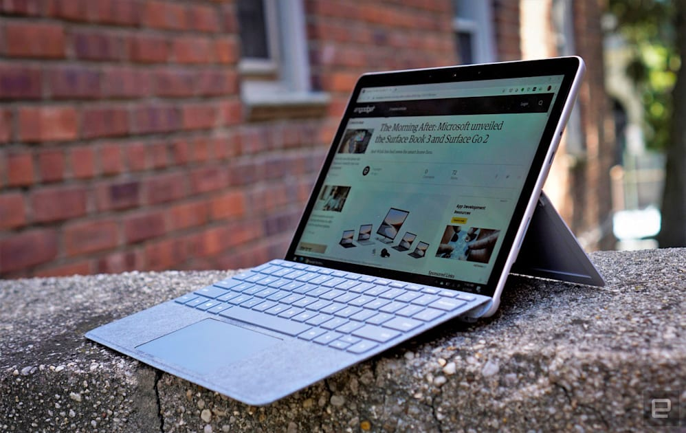Surface Go 2 review: Microsoft's tiny PC is only a tiny bit better