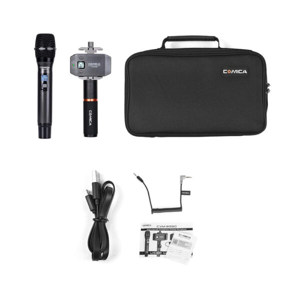 Comica CVM-WS50H Wireless Handheld Microphone for Smartphones - $199.99