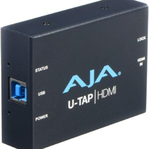AJA U-TAP HDMI to USB 3.0 Capture Device