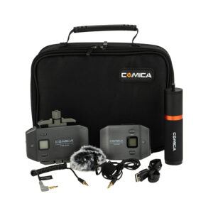 Comica CVM-WS50B Wireless Lavalier Microphone Kit for Smartphones (Li-Ion) - $169