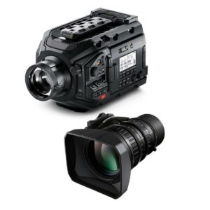 Blackmagic Design BMD-USRA Broadcast-LA16x8BRM-XB1A-kit URSA Broadcast Camera with Fujinon LA16x8BRM-XB1A
