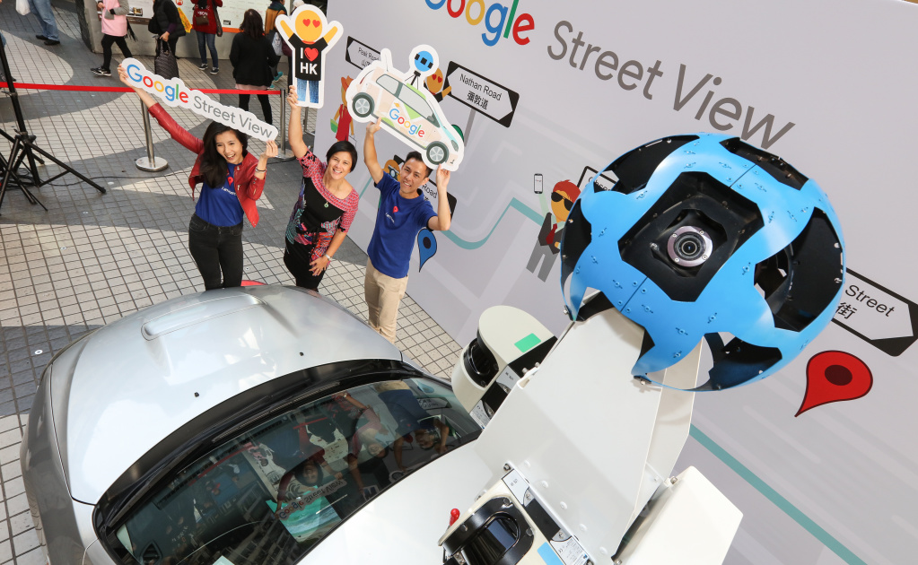Google tests interactive location listings in Street View