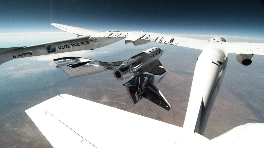 Virgin Galactic's SpaceShipTwo completes a second 'glide test'