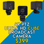 4K PTZ Ultra HD CUBE Broadcast Camera