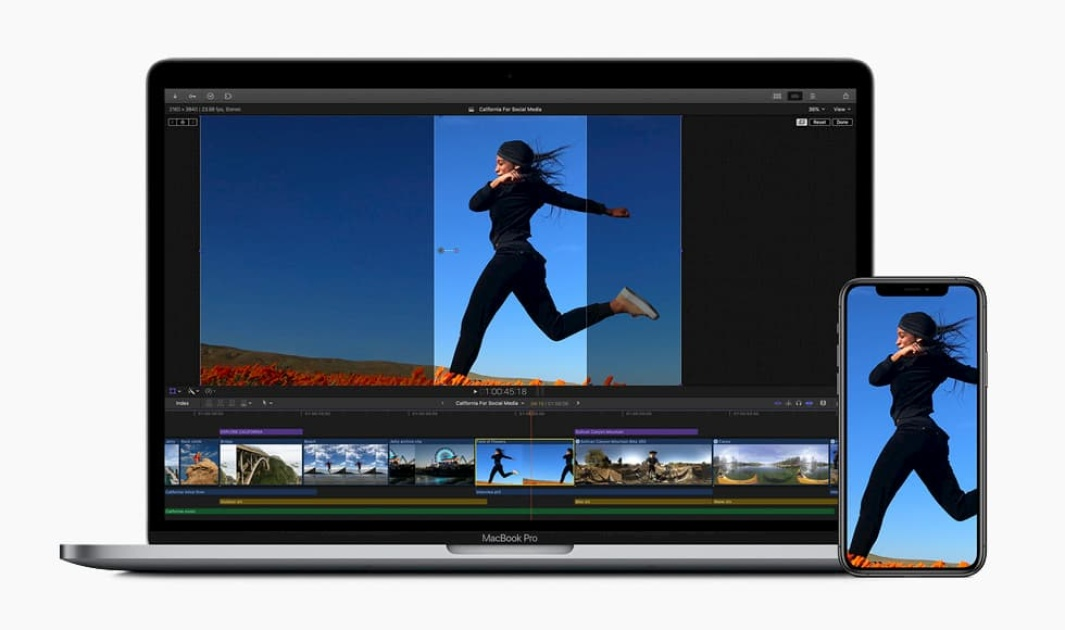 Final Cut Pro X uses AI to auto-crop videos for social media