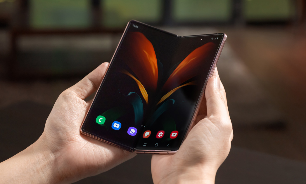 Watch us unbox Samsung's new Galaxy Z Fold 2 live at 4PM ET