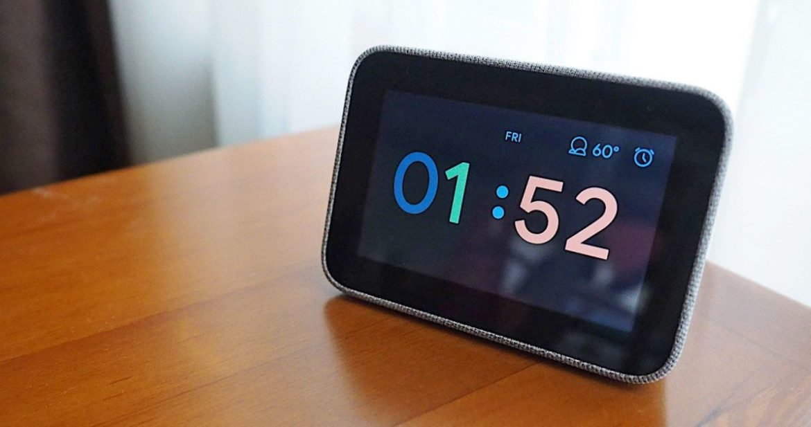 Lenovo's Google Assistant Smart Clock is half price at Best Buy