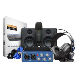PreSonus ULTIMATE PODCAST BUNDLE -$339 Microphone, Speakers and Software Included