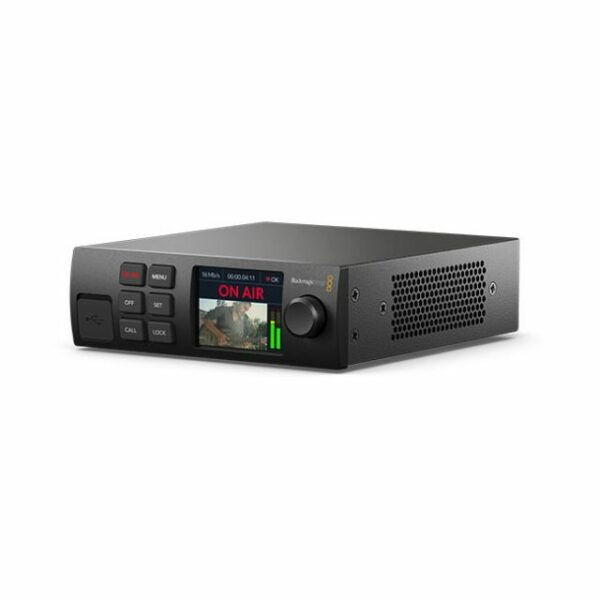 Blackmagic Design Web Presenter HD - Live stream from any12G‑SDI video source direct toYouTube, Facebook, Twitter andmore!